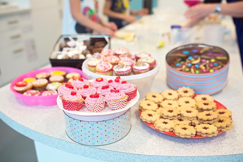 Bake sale at Express Solicitors